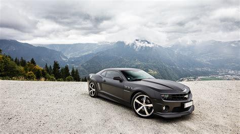 Full Hd Wallpaper Chevrolet Camaro Mountain Roadster