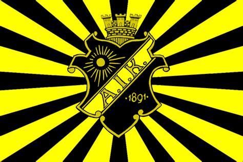 med siege aik krigsflagga kejserlig design indomitus