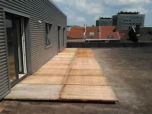 terrasses et clotures en panneaux de coffrage en bois With terrasse en planche de coffrage