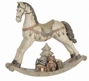 Cheval A Bascule : cheval bascule jouet d coration shabby charme d 39 antan ~ Teatrodelosmanantiales.com Idées de Décoration