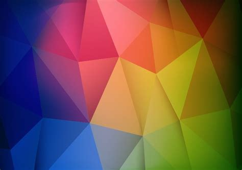 Abstract Geometric Shapes In by Abstract Colorful Geometric Shapes Background Vector
