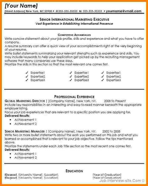 9 free entry level resume templates for word