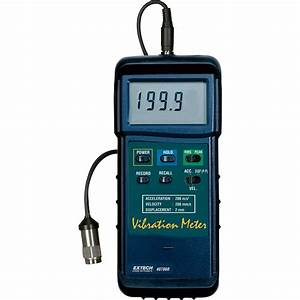 Extech Instruments Vibration Meter  Model  407860