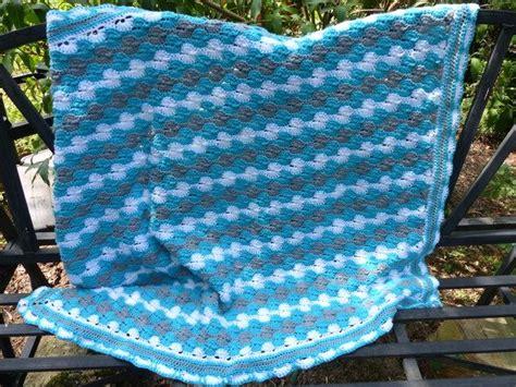 Gehäkelte Decke  Häkelanleitung Babydecke