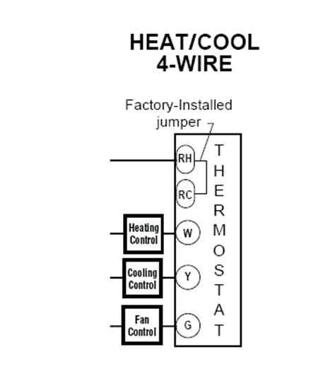 Heat Cool Thermostat Wiring by Heat Cool Thermostat Wiring Wiring Diagrams Folder