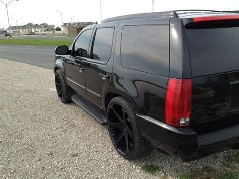 Sell Used 2007 Cadillac Escalade Custom Blacked Out In