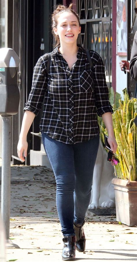 Kat Dennings Out About West Hollywood