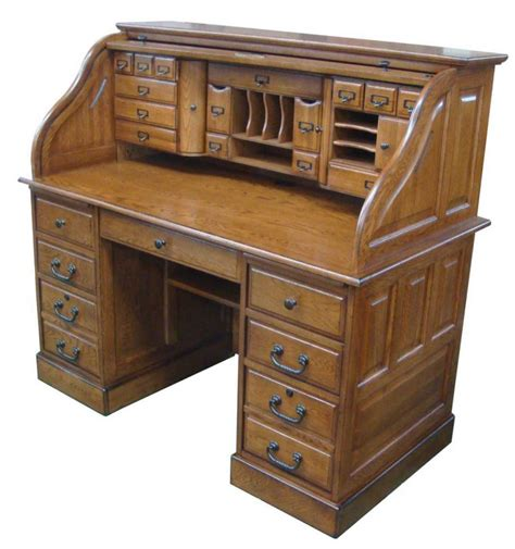 [54 Inches] Oak Deluxe Rolltop Desk  Simply Woods. White Baby Changing Unit With Drawers. Ashley Counter Height Table. Front Desk For Sale. Ds100 Triple Monitor Desk Stand. Tribune Help Desk. 3 Drawer Tool Box. Console Table 10 Inches Deep. Norman Bel Geddes Desk