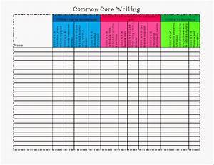 Tales of a 4th grade writing teacher standards tracking for Tracking sheet template for teachers