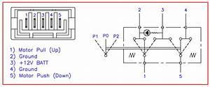 Universal Power Window Switch Wiring Diagram 5