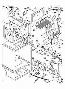 Liner Parts Diagram  U0026 Parts List For Model 10642102301