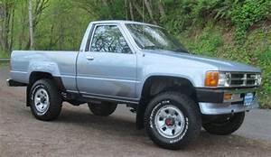 Clean Rare Toyota Pickup 4x4 Pickup Truck 22re 5spd Hilux