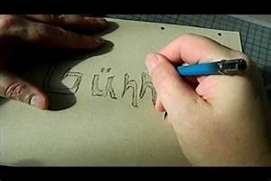 Schablonen Selber Machen Anleitung : video graffiti schablonen selber machen ~ Lizthompson.info Haus und Dekorationen