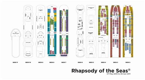 rhapsody of the seas deck plan 7 rhapsody of the seas