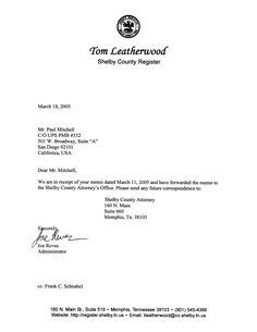 multiple page business letter    business
