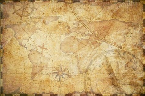nautical treasure map background stock photo
