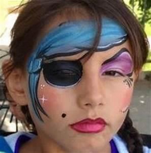 Maquillage Pirate Halloween : modele maquillage fille pirate ~ Nature-et-papiers.com Idées de Décoration