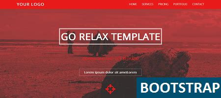 bootstrap template relax  images bootstrap