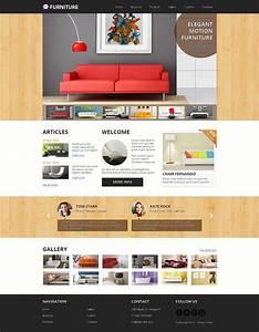 Furniture Responsive Website Template 47895