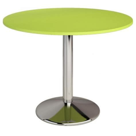 table de cuisine ronde en verre pied central table cuisine murale avec pied table en verre ronde