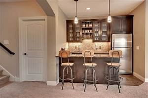 Small, Basement, Kitchen, Design, Ideas
