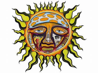 Sublime Sun Clipart Drawing Band Freedom Rising