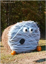 Best Round Hay Bale Decorating Ideas And Images On Bing Find