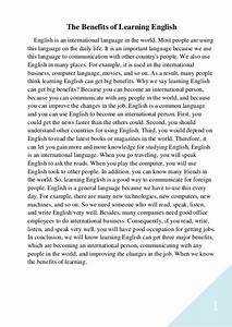 English Learning Essay Planet Writing Paper Experience In Learning  Immigrants Should Learn English Essay