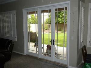 Sliding French Doors — Decor Trends : Astonishing Sliding