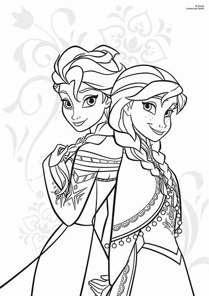 Coloring Pages Luna Princess Childrens Evening Library