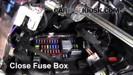interior fuse box location   lincoln mkt