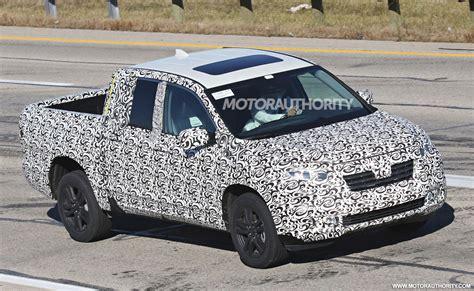 2017 Honda Ridgeline Spy Shots