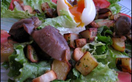 cuisiner des gesiers recette salade gourmande aux gésiers confits et pommes