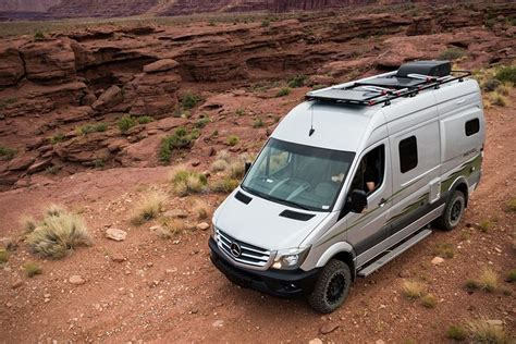 With the chassis of the sprinter, the winnebago revel. winnebago's mercedes-benz revel 4x4 camper van is built for off-roading | 4x4 camper van ...