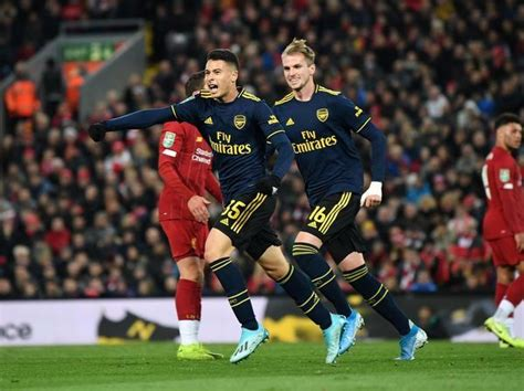 Liverpool FC v Arsenal FC Carabao Cup Round of 16 #19605384