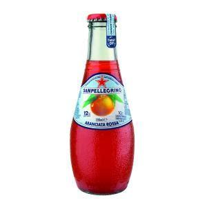 Sanpellegrino Aranciata Rossa 200ml Bottle Carton 24 ...