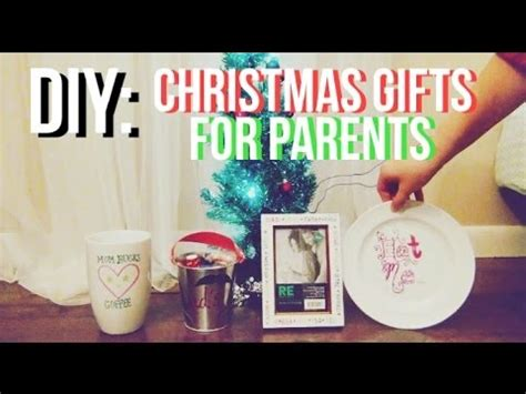 diy christmas gifts for parents ft sophia youtube