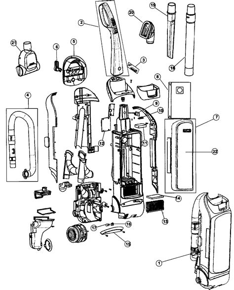 sears vaccum parts 216 37100700 kenmore upright vacuum cleaner manual