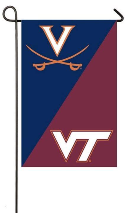 a house divided garden flag uva and vt the virginia