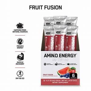 Optimum Nutrition Gold Standard Amino Energy Stick Packs  6 Pcs   U2013 Proteinlab Malaysia