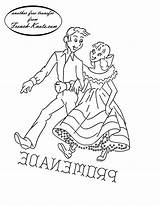 Embroidery Patterns Square Dance Pattern Western Transfers Dancing Couple Romantic Couples Knots French Promenade Towels Tipnut Kitten Transfer Dancers sketch template