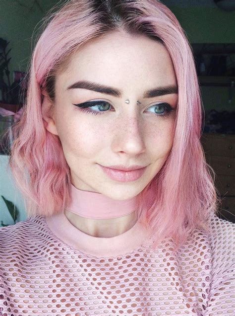 Color Trendy Hair Color Pastel Pink Hair Dye By