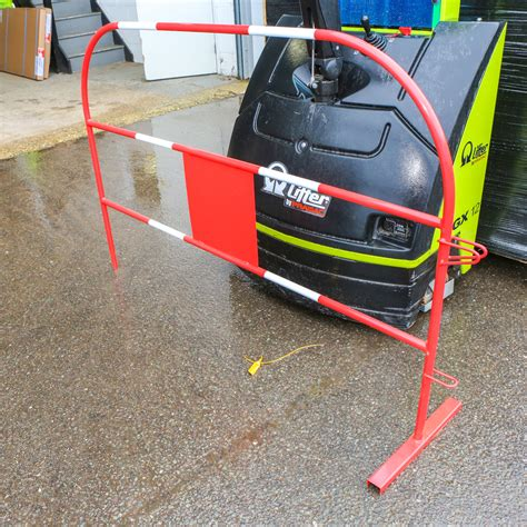 reflective driveway markers uk safety barriers light easy price barriers direct