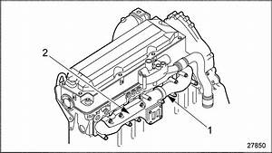 Series 60g Genset Engine Typical Exhaust Manifold Mounting