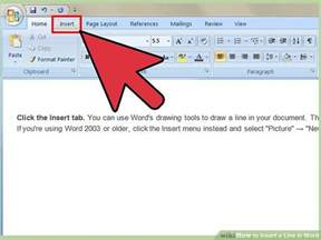 3 ways to insert a line in word wikihow