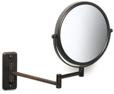 jerdon jp7506bz 8 inch wall mount makeup mirror with 5x