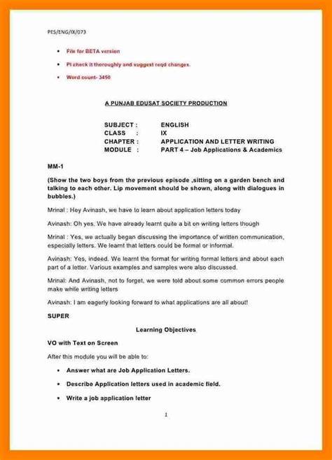 formal letter  principal sample formal letter