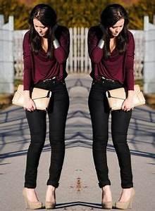 Outfit blusa vino - Buscar con Google   look   Pinterest   Blusas Buscar con google y Buscando