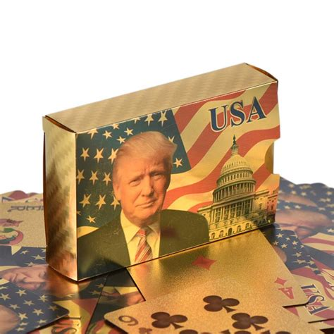 But that can be fool's gold. 24 Karat Donald Trump Gold Plated Waterproof Playing Cards • Magic Matt's Brilliant Blinkys