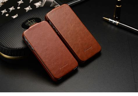flip phone for iphone leather flip cover for iphone 4 5 papa